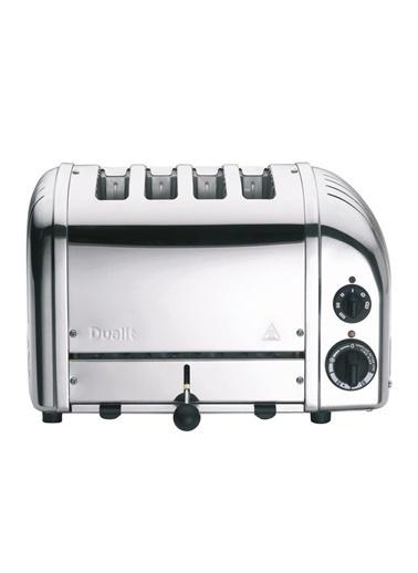 Quail Dualit 47030 Classic 4 Hazneli İnox Çelik Ekmek Kızartma Makinesi Gri